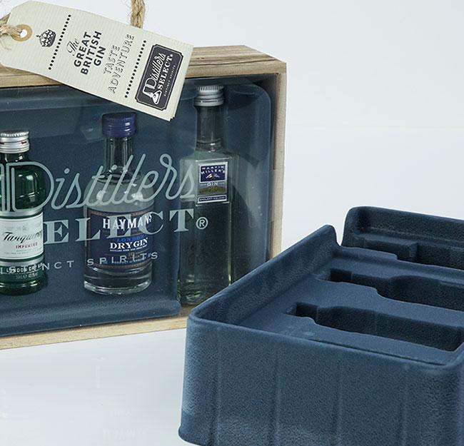 Bottle gift pack packaging