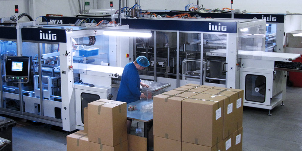 Thermoformed packaging manufacture in the uk