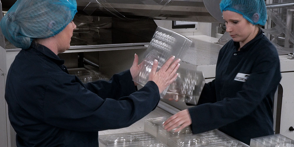 Thermoformed packaging quality inspection
