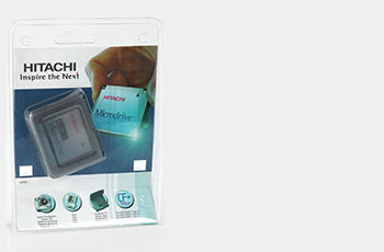 Tricel packaging for components