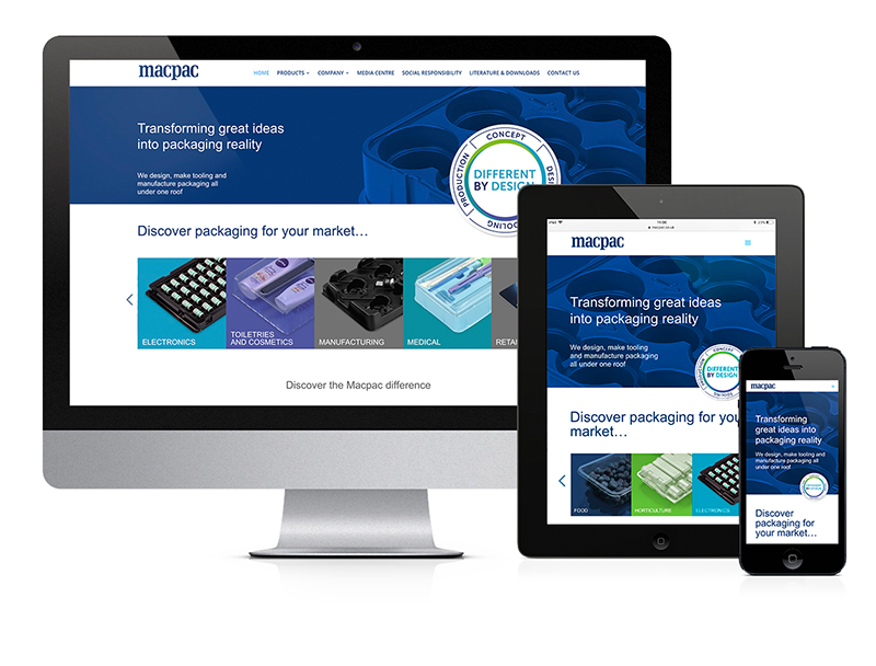 Read what Packaging News said about Macpac's new website
