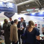 Breakdown PET triggers interest on the Macpac stand D30 at Packaging Innovations on the first morning