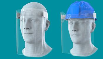 Macpac creates hard hat safety visors