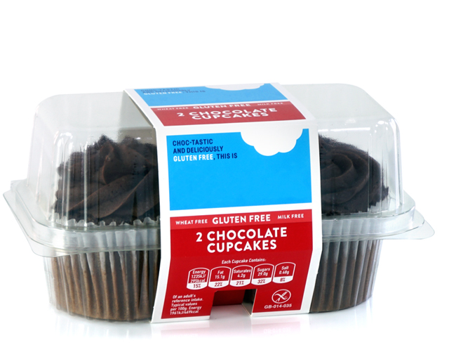 Food grade packaging for bakery products
