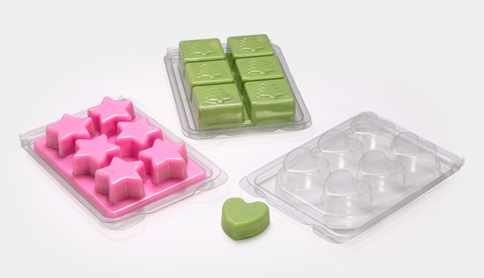 Packaging for fragrances -Macpac's Wax Melt Moulds