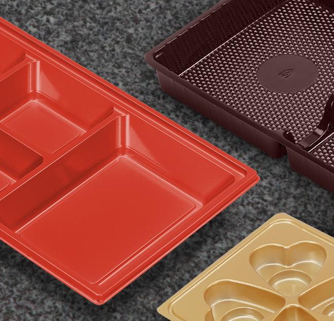 Food grade trays